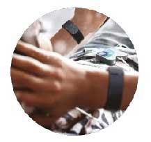 Bracelet electrodes